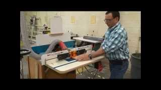 How to Safely use Routers and Router Tables