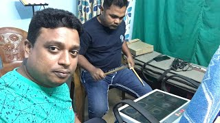 Octopad se Computer Recording studio version Kaudi bala Siva Bhajan