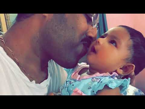My baby's video | Funny baby video | Anisha with her father | The most adorable two person for me