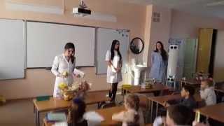 урок Здорового питания в МОУ СОШ № 30  2 класс г.Хабаровск