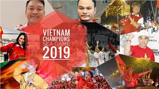 Hàng loạt SAO VIỆT ăn mừng chiến thắng Đội Tuyển U22 Việt Nam Vô Địch SEA GAME 2019 sau 60 năm