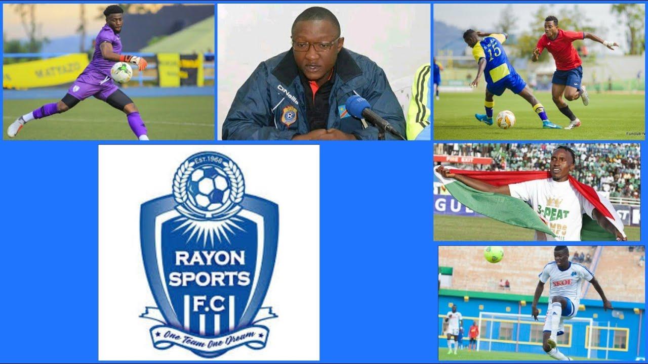 Umutoza Guy Bukasa na Rutahizamu Manasse Matatu ba Gasogi Utd; Mackenzie & Abouba muri Rayon Sports