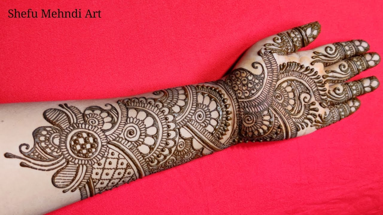 image of mehendi designs