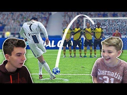 DESAFIO DA FALTA DO CRISTIANO RONALDO NO FIFA X MEU IRMÃO!!! (FIFA 19)