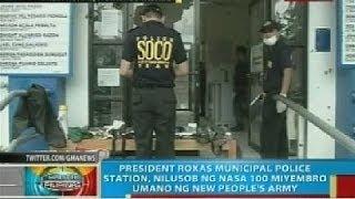 Pres. Roxas Municipal Police Station sa North Cotabato, nilusob ng NPA umano; 3 patay sa engkwentro