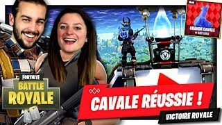 TOP 1 GRANDE CAVALE RÉUSSIE ! | FORTNITE MODE GRANDE CAVALE DUO FR