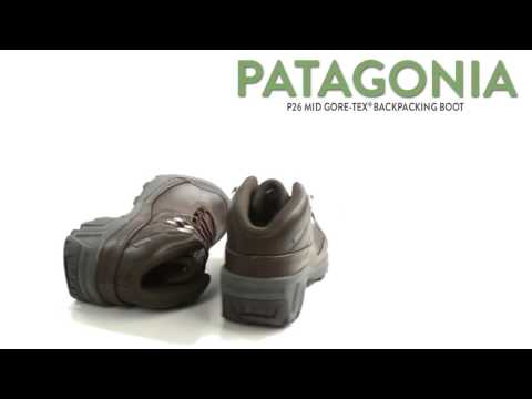 9d8a0b74 Patagonia P26 Mid Gore-Tex® Backpacking Boot - Waterproof, Nubuck (For Women)  - YouTube