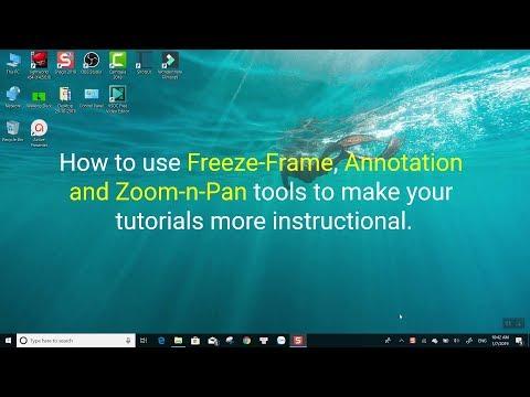 ActivePresenter Tip: Making Better Tutorial Video Using Freeze-frame, An...