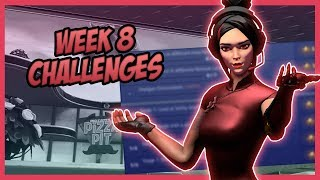All *LEAKED* Week 8 Challenges Guide (Season 9) - Fortnite Battle Royale