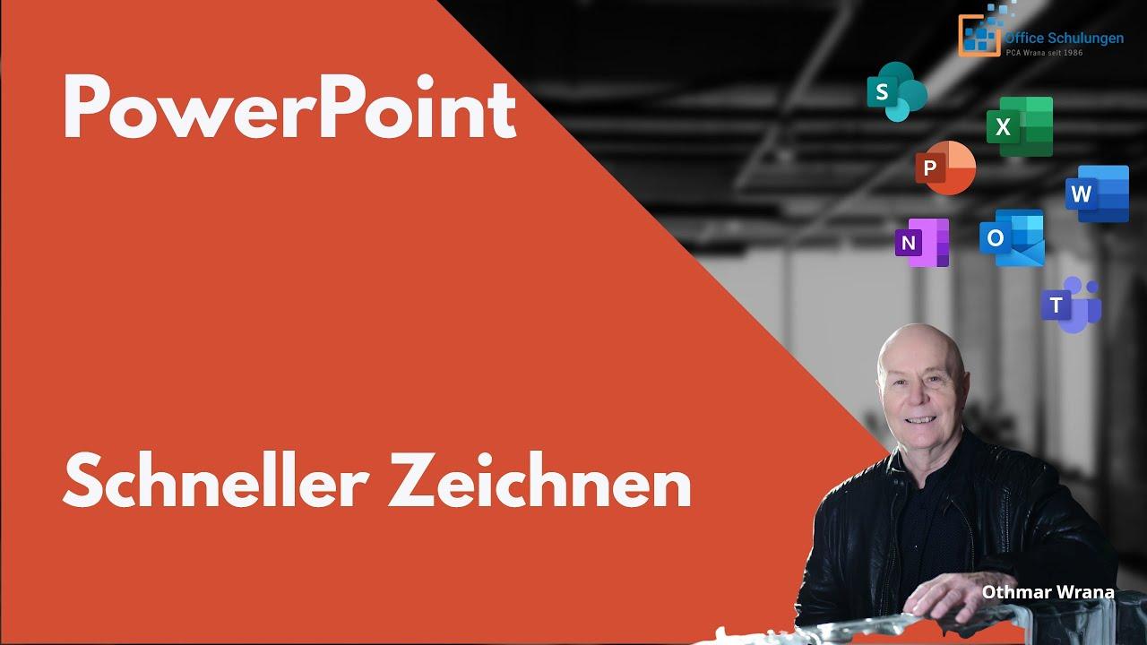 PowerPoint–Schneller Zeichnen - YouTube