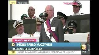 PRESIDENTE ASISTE A CEREMONIA POR EL DIA DEL EJÉRCITO TV   RPP 09 DIC 17