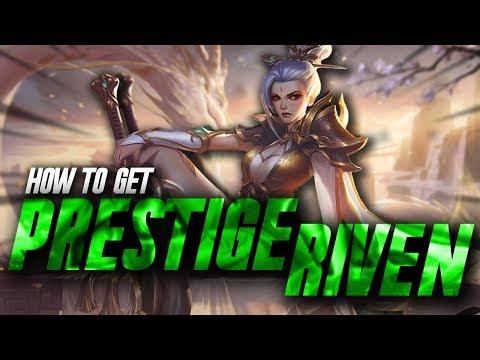 Easiest way to get Prestige Riven