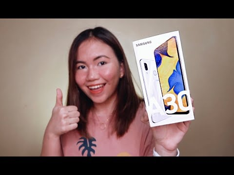 SAMSUNG GALAXY A30 UNBOXING AND REVIEW