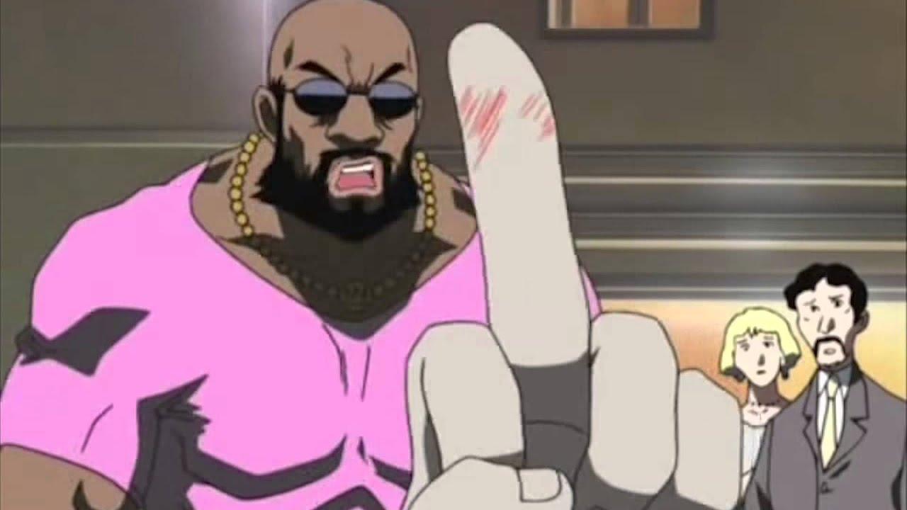 Anime Black Guy