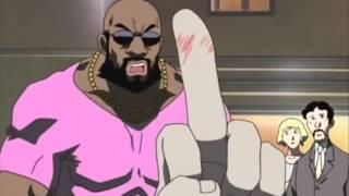 Worst black guy dub in an anime - FIXED