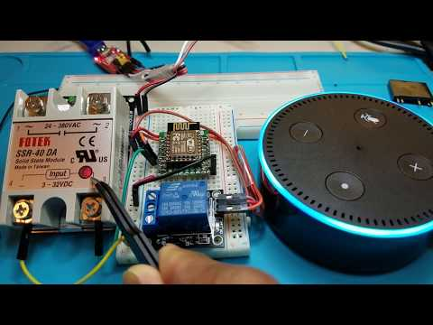 IOT  DIY Home Automation with Alexa| Control Multiple Devices | ESP8266 ESP-12E | Tutorial # 4