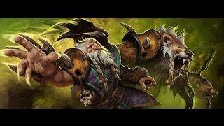 Dota2 гайд на lone druid лон друид мишка