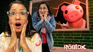 Roblox - SOZINHAS CONTRA A PIGGY !! MUITOS SUSTOS (Piggy Roblox) | Luluca Games