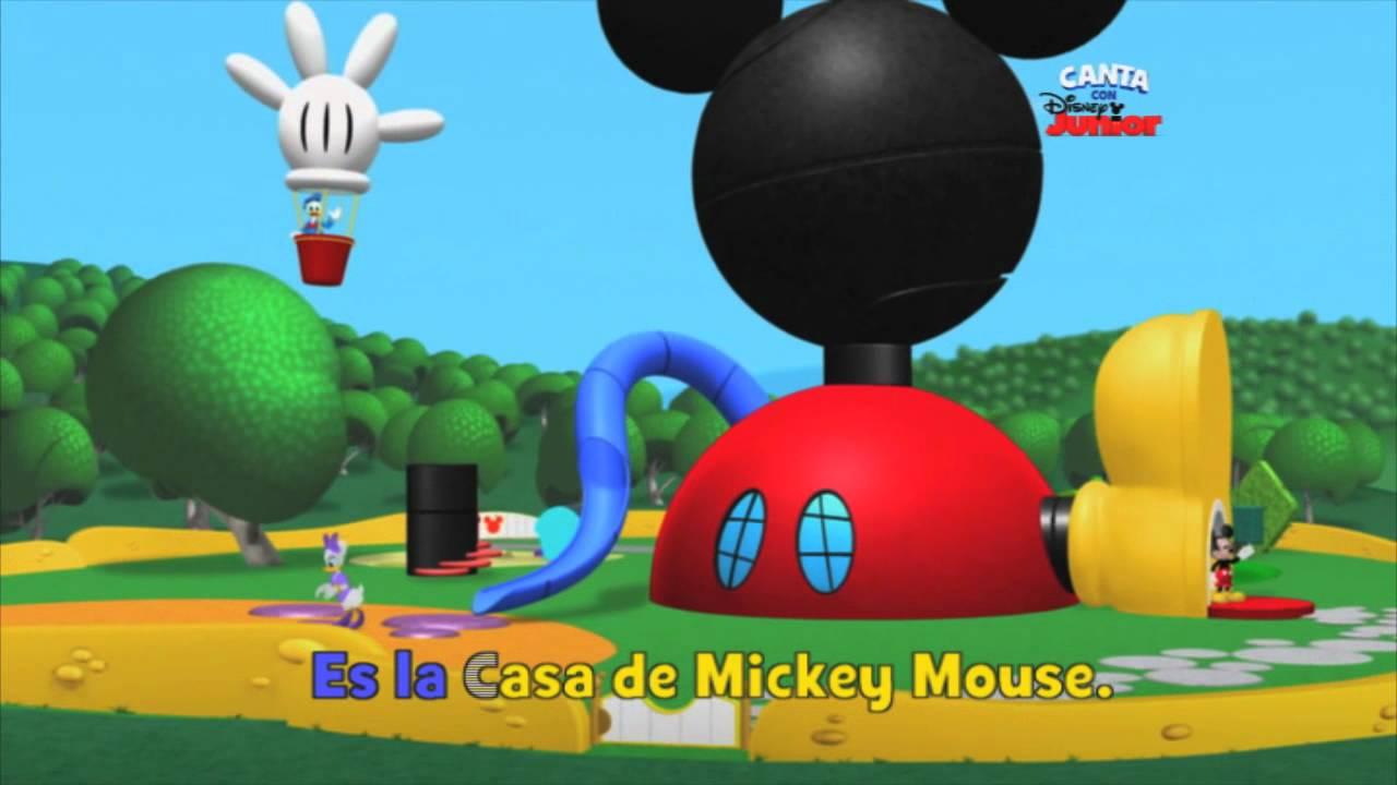 Disney Junior Espaa  Canta con Disney Junior La casa de Mickey
