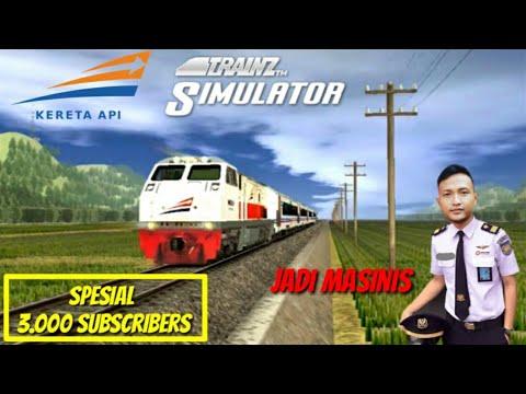 RASANYA JADI MASINIS Dinas Ke Wonogiri - Trainz Simulator Indonesia Android