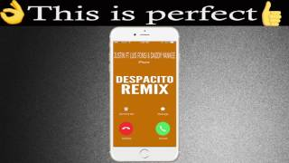"""Set this popular remix song """"despacito"""" by justin bieber feat luis fonsi & daddy yankee as your ringtone: http://smarturl.it/despacitoremixd ****************..."""