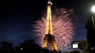 Tour Eiffel Firework HD - 14 juillet 2009 1/2