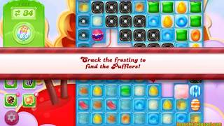 Candy Crush Jelly Saga Level 1622 (3 stars, No boosters)