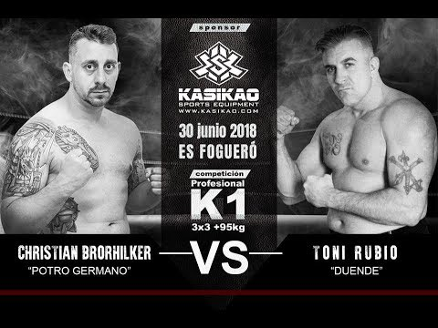 Christian Brorhilker (CB Promotions) vs Antonio Rubio (Menorca) +95kg