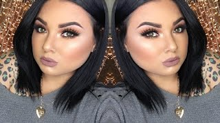 glam fall thanksgiving makeup tutorial   prettylilmzgrace