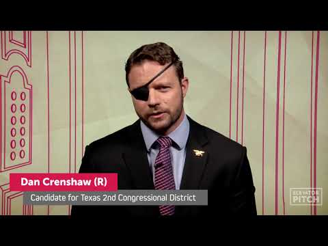 Who Is Dan Crenshaw? Republican Gives Two-Minute \'Elevator Pitch\' For Congress (TX 2nd District)
