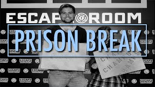 PRISON BREAK - Escape Room Vlog!
