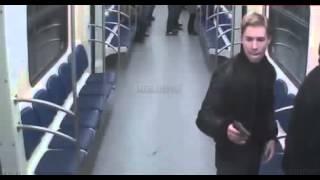 Расстреляли хача в метро 17 .11.2013
