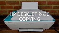 HP Deskjet 2630 Copying