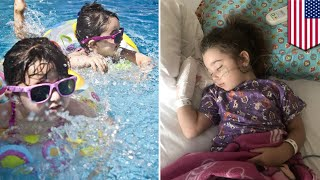 'Dry drowning' hospitalizes young girl after day at pool - TomoNews