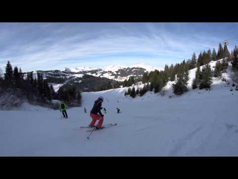 Piste de ski Ambresalles - Les Gets