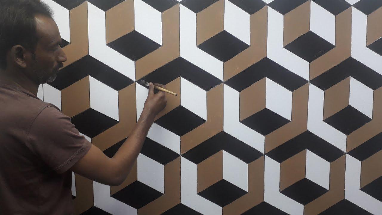 12d wall painting  12d wall decoration effect  12d wall texture new design  ideas  interior design