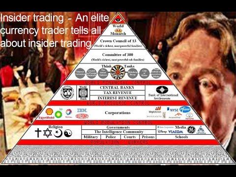 Insider trading - elite Forex trader tells all