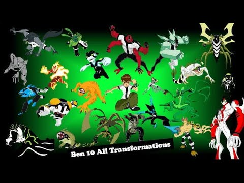 Ben 10 Classic All Transformation 🤩🤩