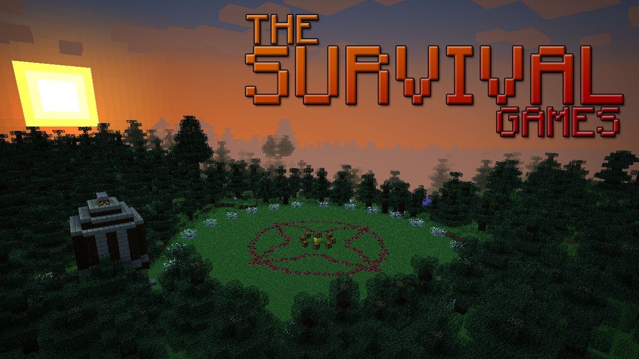 The Survival Games Minecraft PvP Map YouTube - Minecraft spiele original