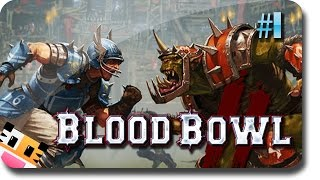 Blood Bowl 2 - How To MURDER!! #1 (Blood Bowl 2 Gameplay)