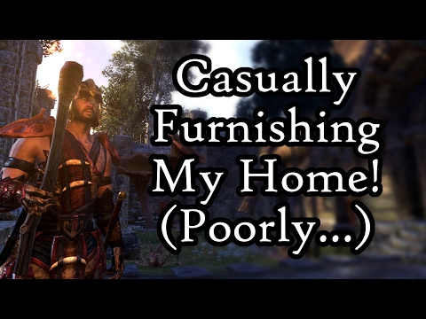 The Elder Scrolls Online - Homestead | Casually Furnishing My Home! (Poorly) #1