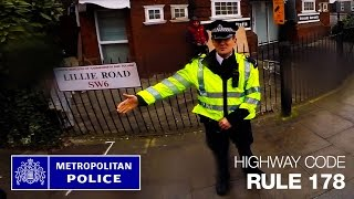 MET Police Fail - When enforcing a rule it helps to know it first! #opsafeway thumbnail