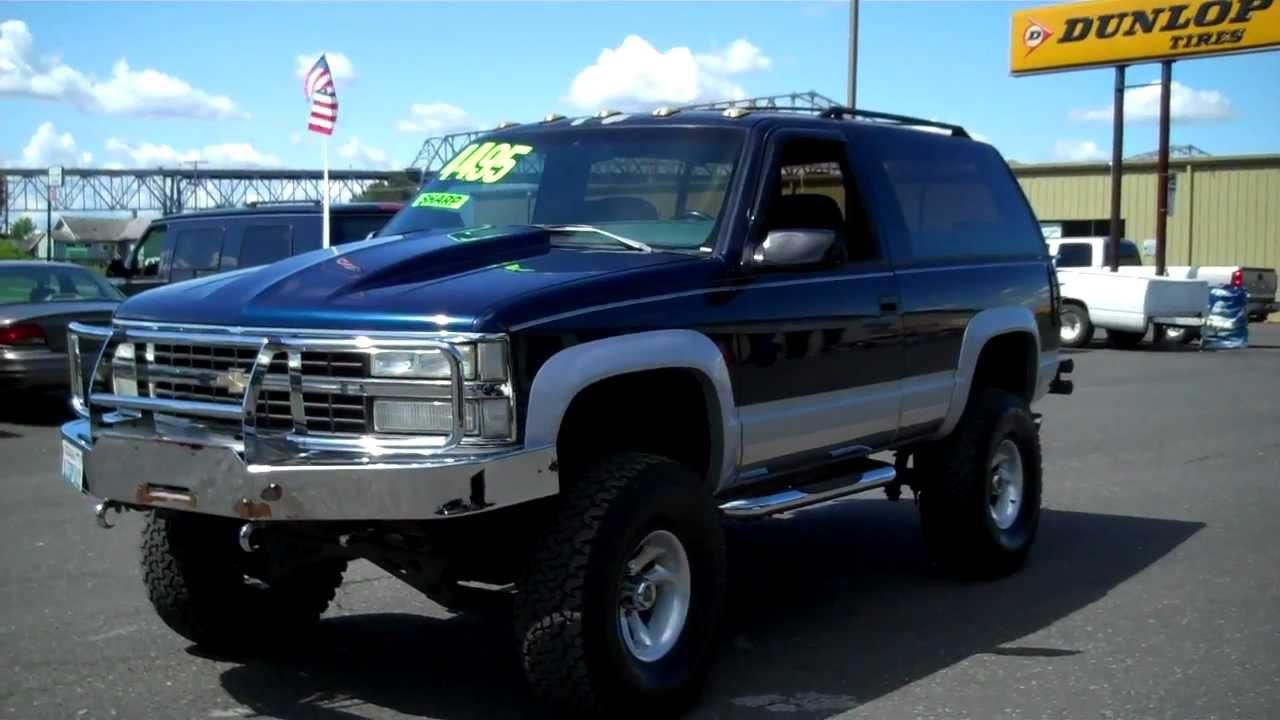 1993 Chevy Blazer Sold