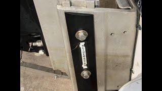 adjusting manual jackplate (slide master)