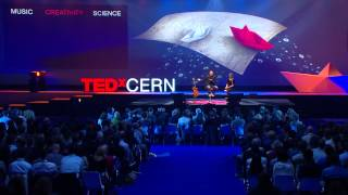 PERFORMANCE Quantum Music Nitin Sawhney TEDxCERN