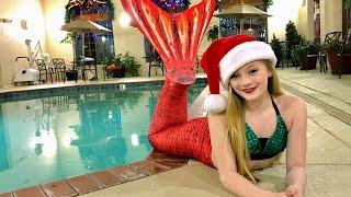 The Magic Mermaid gives Princess Ella a surprise Christmas gift and she becomes a Real Mermaid