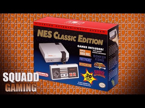 Playing Nintendo's Retro Re-release: NES Classic Edition