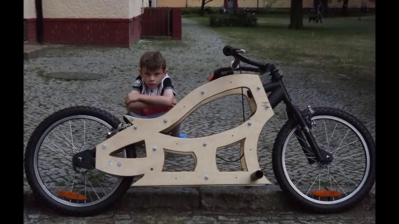E bike D.I.Y. WOODEN CHOPPER