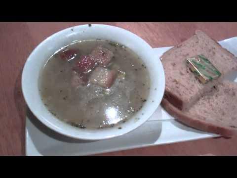 Leek and Tattie Soup Burns Night Supper Perthshire Scotland