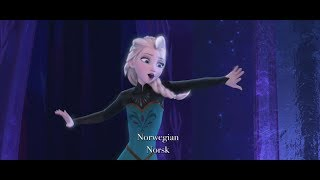 Disney&#39s Frozen - &quotLet It Go&quot Multi-Language Full Sequence